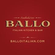 This is the restaurant logo for Ballo Italian