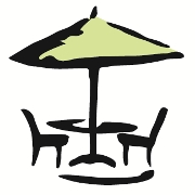 This is the restaurant logo for Camille's Sidewalk Cafe
