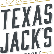 This is the restaurant logo for Texas Jack's Barbecue