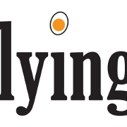 This is the restaurant logo for The Flying Egg