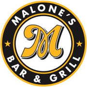 This is the restaurant logo for Malone's Bar & Grill