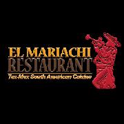 This is the restaurant logo for El Mariachi Restaurant