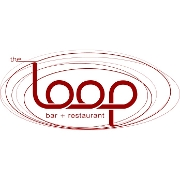 This is the restaurant logo for The Loop - West End