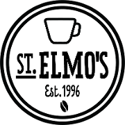 This is the restaurant logo for St. Elmos