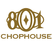 This is the restaurant logo for 801 Chophouse