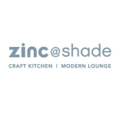 This is the restaurant logo for Zinc@Shade