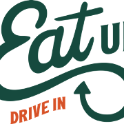 This is the restaurant logo for Eat Up Drive In