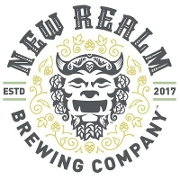 This is the restaurant logo for New Realm Brewing Company