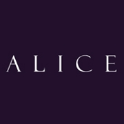 This is the restaurant logo for Alice