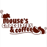 This is the restaurant logo for Mouses Chocolates and Coffee