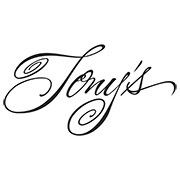 This is the restaurant logo for Tony's Cafe