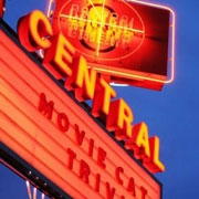This is the restaurant logo for Central Cinema