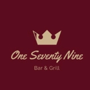 This is the restaurant logo for 179 BAR AND GRILL