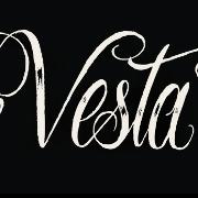 This is the restaurant logo for Vesta