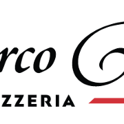 This is the restaurant logo for Marco Roma