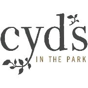 This is the restaurant logo for Cyds in the Park - upstairs Grill + Star Bar