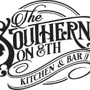 This is the restaurant logo for The Southern on 8th