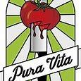This is the restaurant logo for Pura Vita Redondo Beach