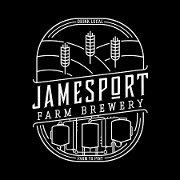 This is the restaurant logo for Jamesport Farm Brewery