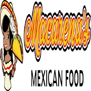This is the restaurant logo for Macarena's Mexican Food Liberty