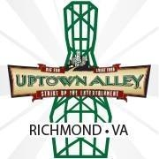 This is the restaurant logo for Uptown Alley Richmond