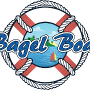 This is the restaurant logo for Bagel Boat