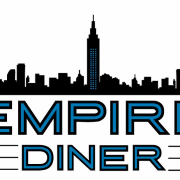 This is the restaurant logo for Empire Diner