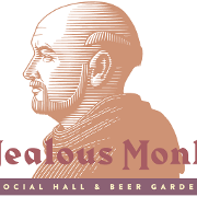 This is the restaurant logo for Jealous Monk