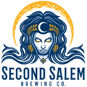 This is the restaurant logo for Second Salem Brewing Co.