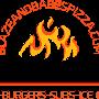 Restaurant logo for Blaze and Babes