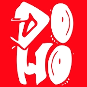 This is the restaurant logo for DOHO Taqueria
