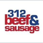 This is the restaurant logo for 312 Beef and Sausage