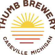 This is the restaurant logo for Thumb Brewery