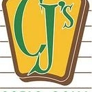 This is the restaurant logo for CJ's Patio Grill