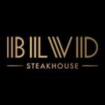 This is the restaurant logo for BLVD Steakhouse