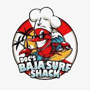 This is the restaurant logo for Doc's Baja Surf Shack