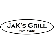This is the restaurant logo for Jak's Grill