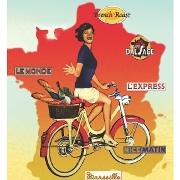 This is the restaurant logo for L'Express