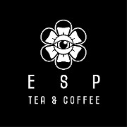 This is the restaurant logo for ESP Tea & Coffee