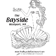 This is the restaurant logo for Bayside Restaurant