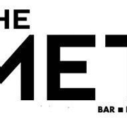 This is the restaurant logo for The Met