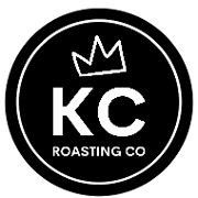 This is the restaurant logo for KINGDOM Coffee Roasting Company