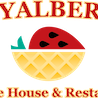 This is the restaurant logo for Royalberry Waffle House & Restaurant