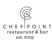 This is the restaurant logo for Chef Point Colleyville