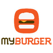 This is the restaurant logo for My Burger Skyway