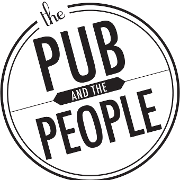 This is the restaurant logo for The Pub & The People