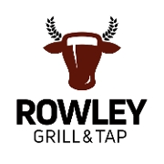 This is the restaurant logo for Rowley Grill & Tap