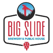 This is the restaurant logo for Big Slide Brewery & Public House
