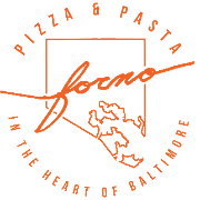 This is the restaurant logo for Forno Restaurant & Wine Bar