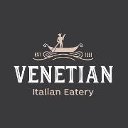 This is the restaurant logo for Venetian Italian Eatery
